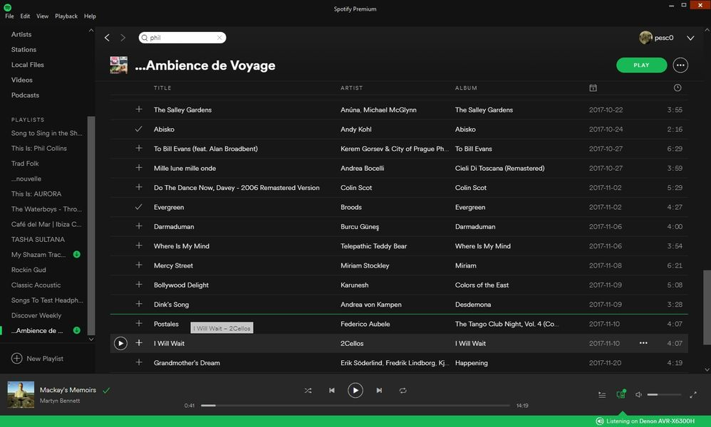 Can't change order of songs in playlist - The Spotify Community