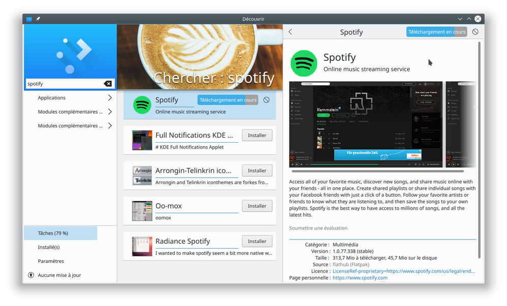Spotify_Installation_with_Plasma_Discover_(Leap15).png