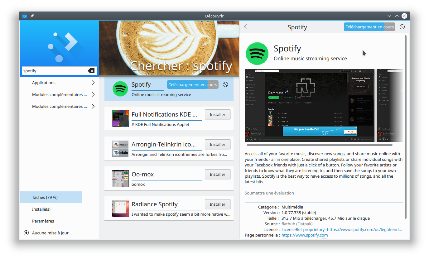 Flatpak as cross-distribution solution - The Spotify Community