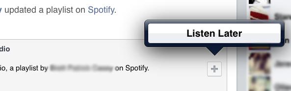 Facebook Listen Later