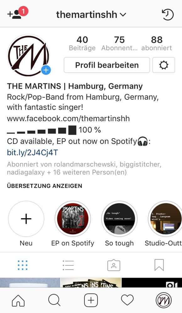 Spotify track link on Instagram - The Spotify Community