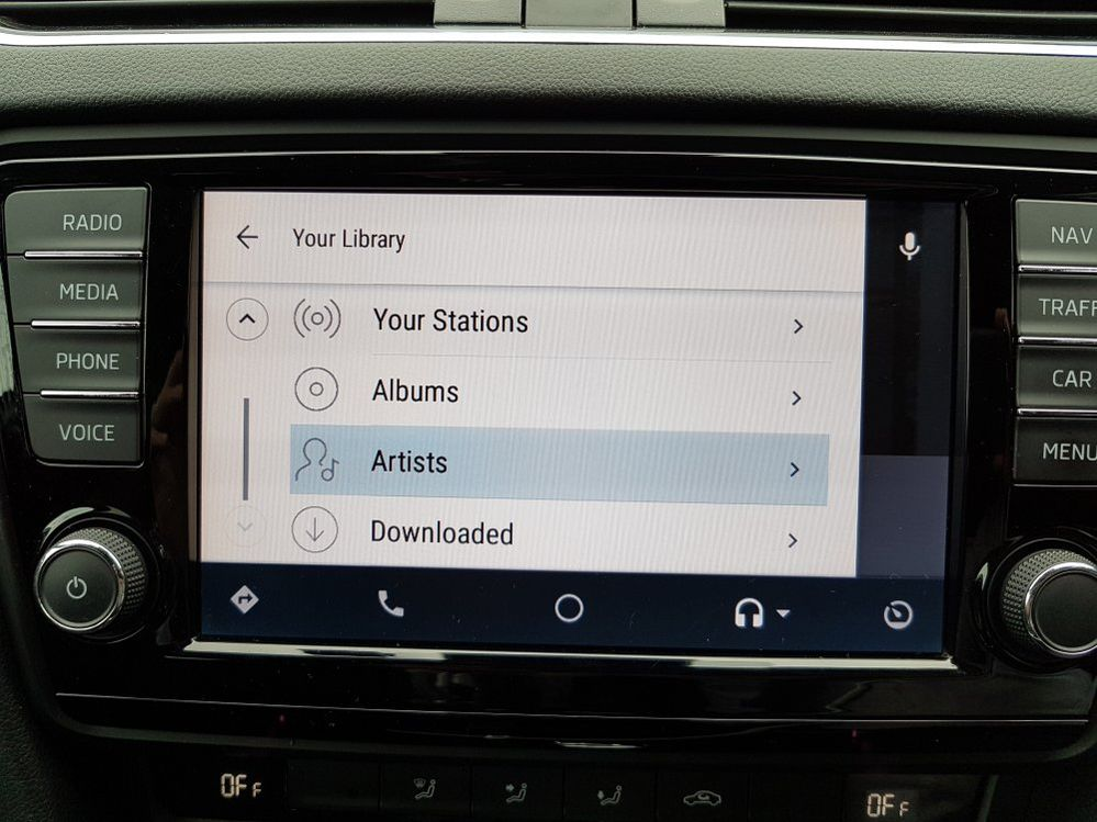 Android Auto - downloaded music - The Spotify Community