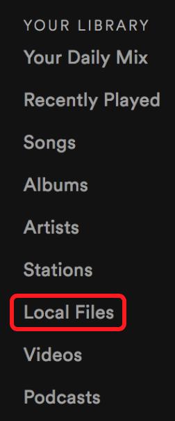 Desktop] Add local files to Spotify - The Spotify Community