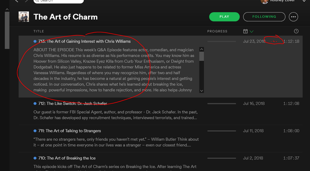 Solved: Podcast Playlists? - The Spotify Community