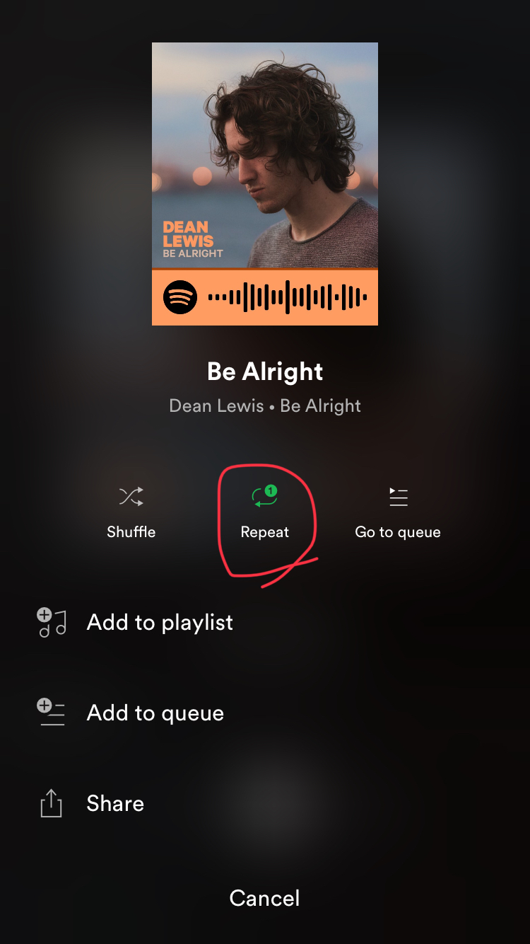 Solved: Repeat one song button is gone!!!!!! - The Spotify