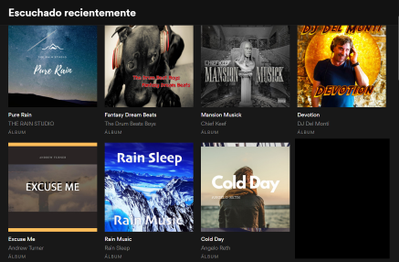 my recently played is full of weird stuff? - The Spotify Community