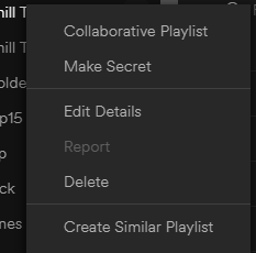 Create Similar Playlist (Bottom)