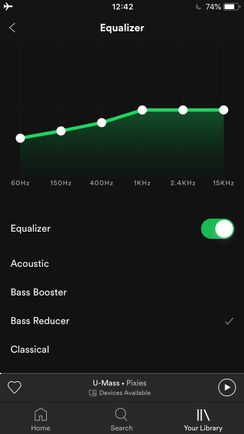 How do I use the equalizer? - The Spotify Community