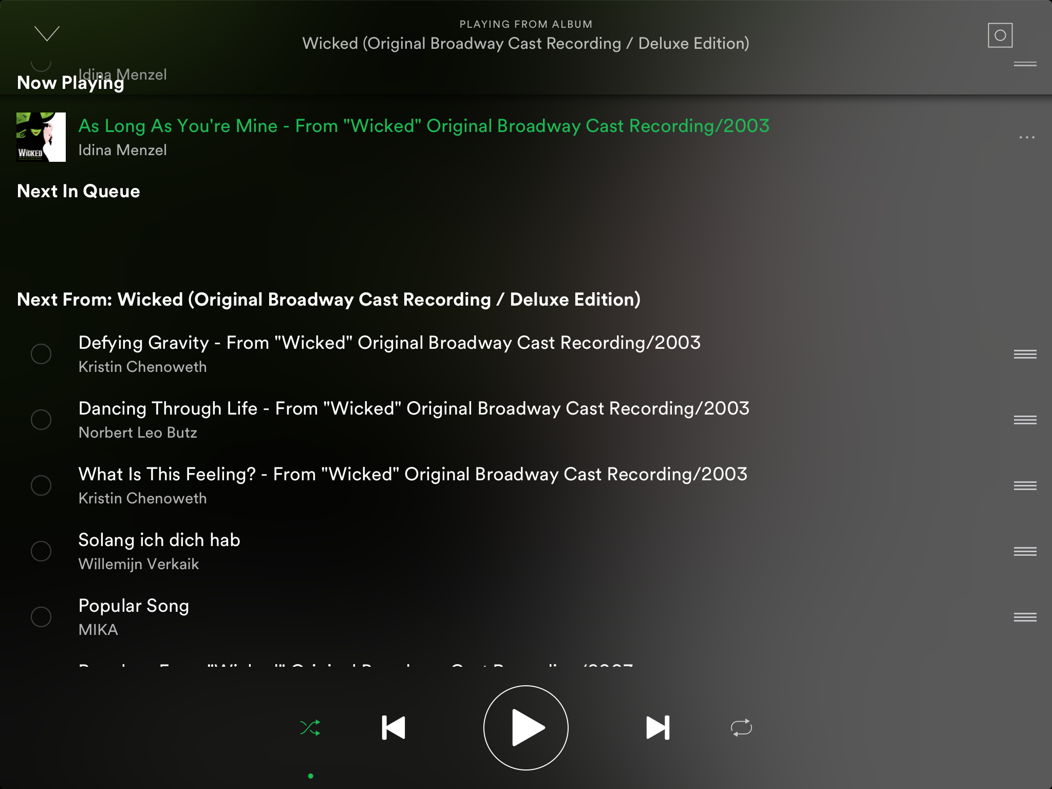 App freezes and crashes when moving items in the s    - The Spotify