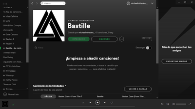 music in playlists is not shown