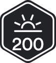 You've logged in 200 days in a row!
