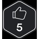 Five kudos