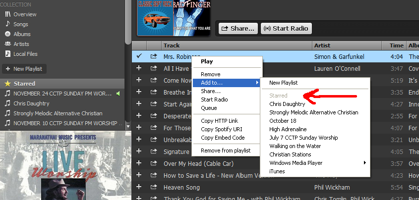 how to add songs to listen to on spotify