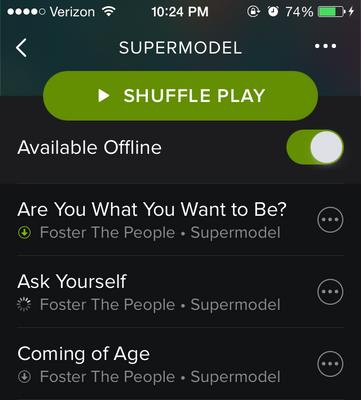 Solved Iphone Sync Greygreenno Arrow The Spotify Community