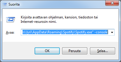 how to change bitrate on spotiry
