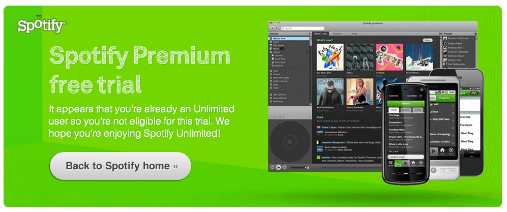 how to cancel spotify trial