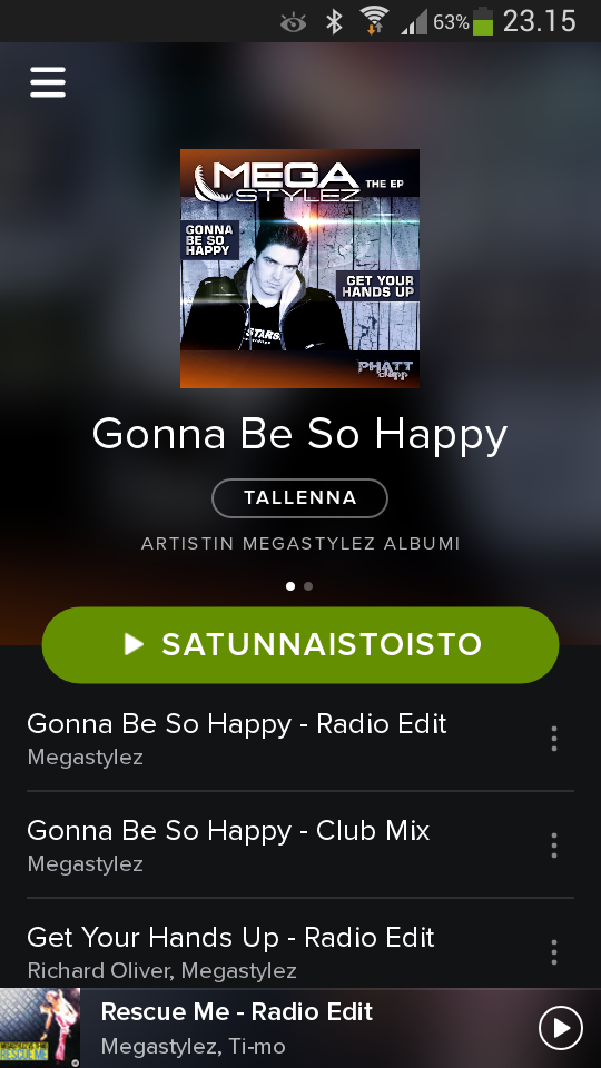 how to change spotify playlist picture on android