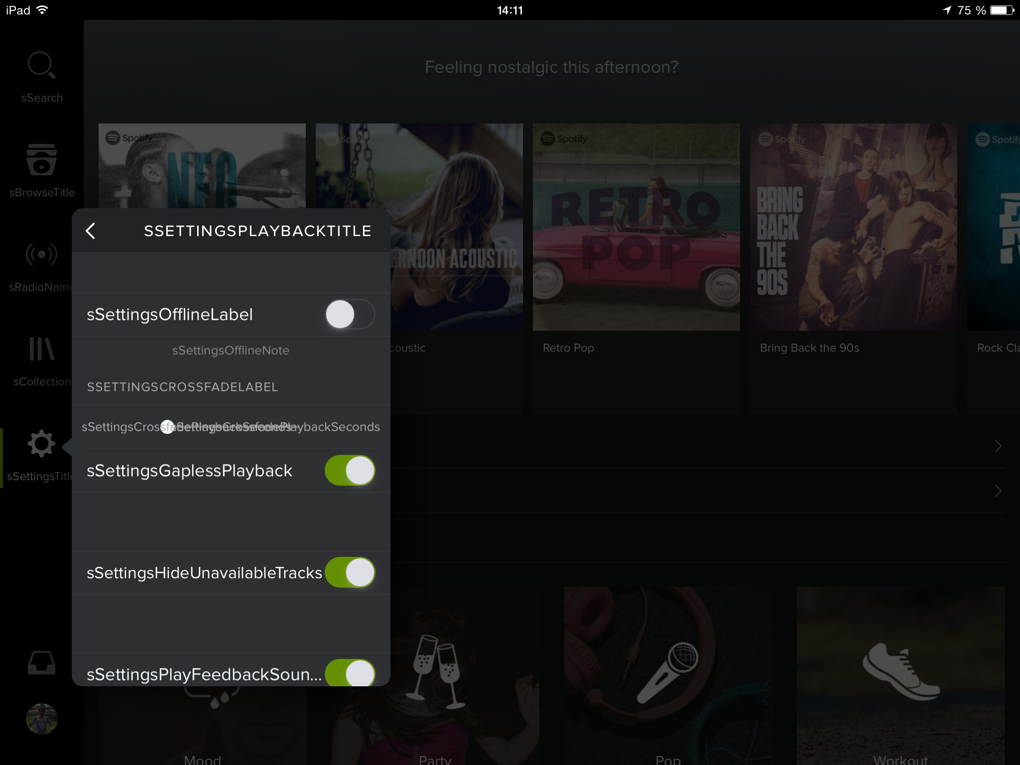 how to turn spotify online