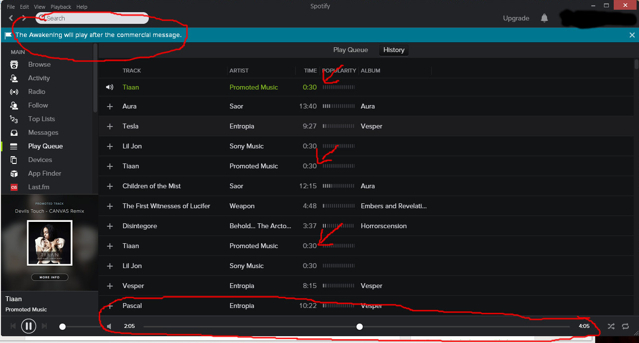 how to get rid of ads on spotify mac