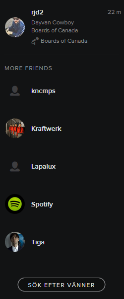 Spotify feed not updating