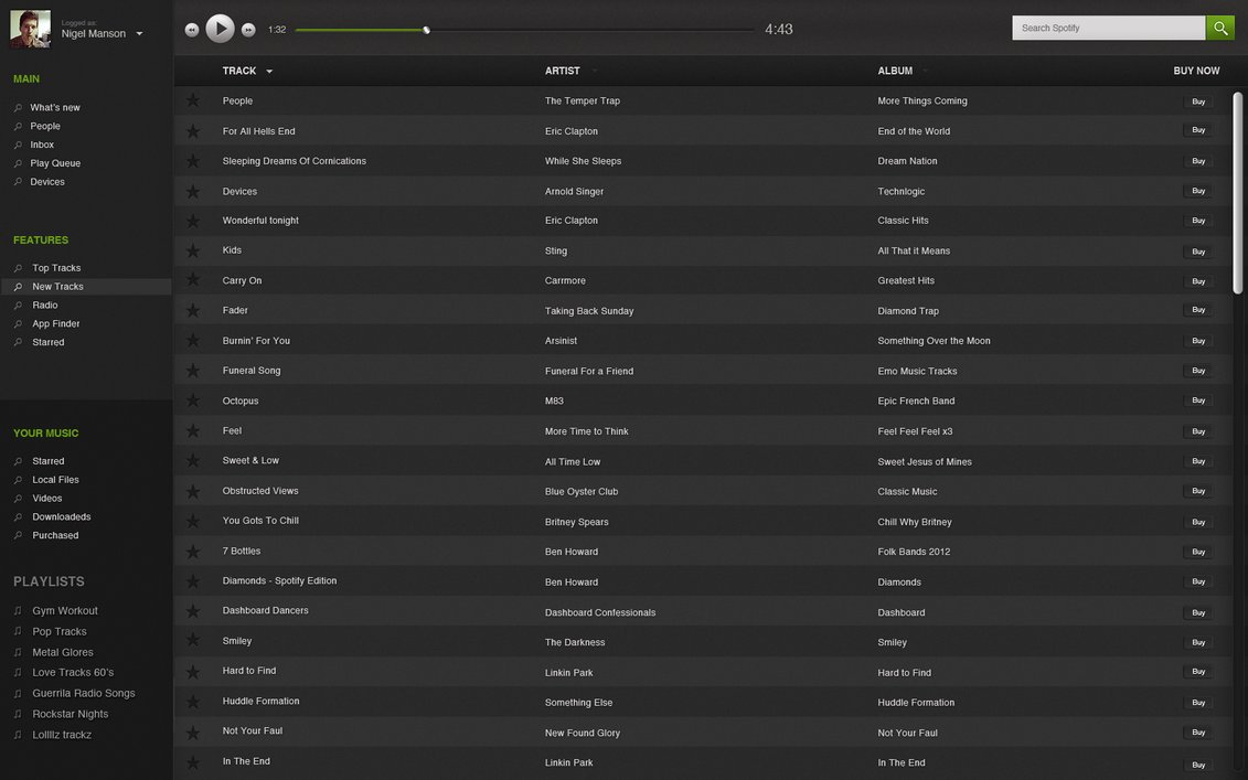 how to change playlist order on spotify web player