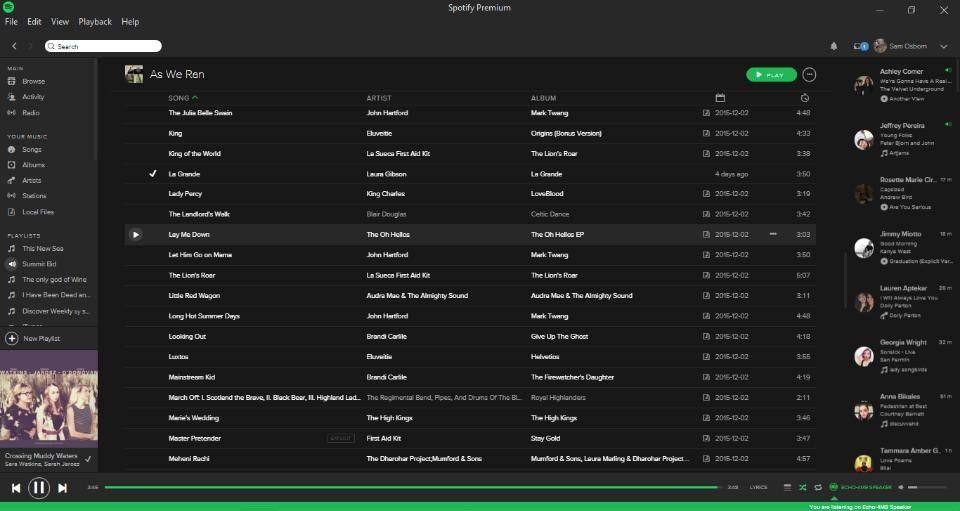 playlist spotify online
