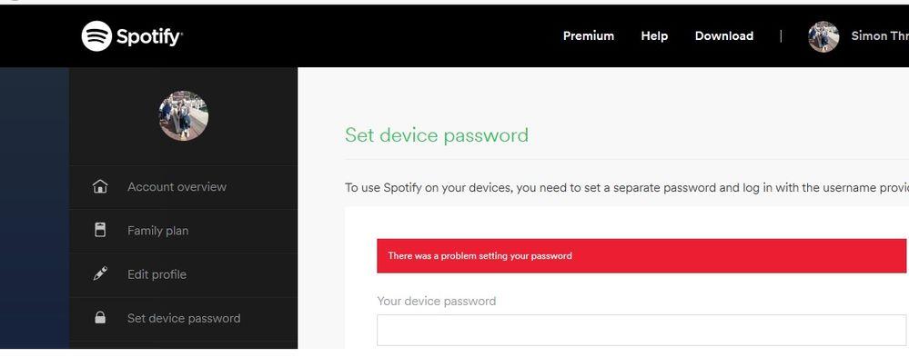 www spotify com password reset