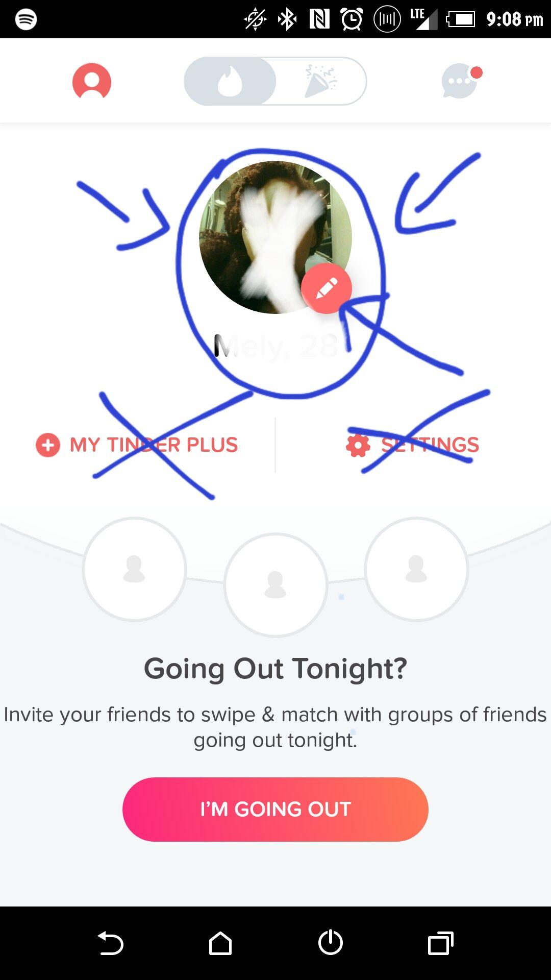 Tinder wont connect