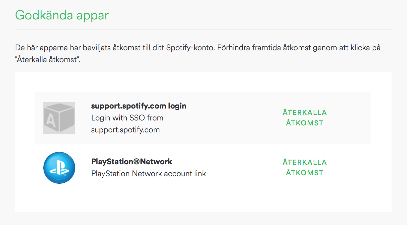 Solved Unlinking Spotify And Playstation Page 5 The Community