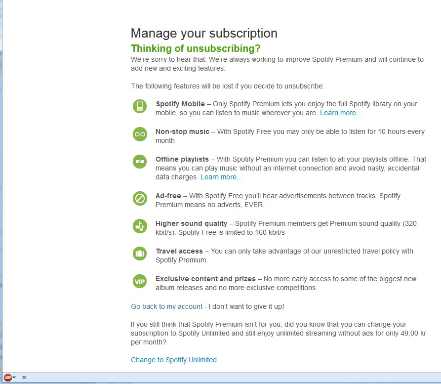 Need Instructions To Cancel Premium The Spotify Community