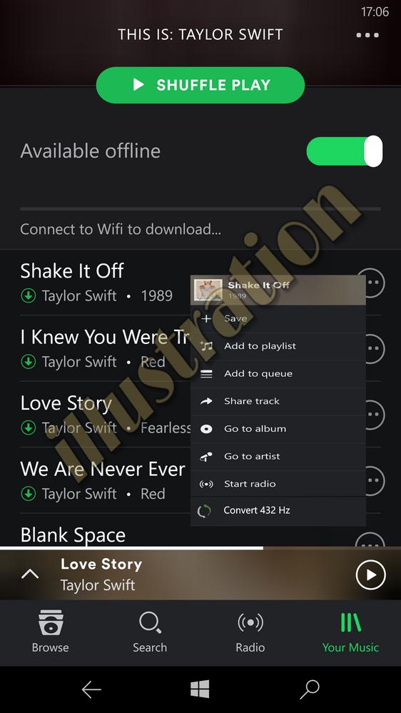 playlist spotify senza premium