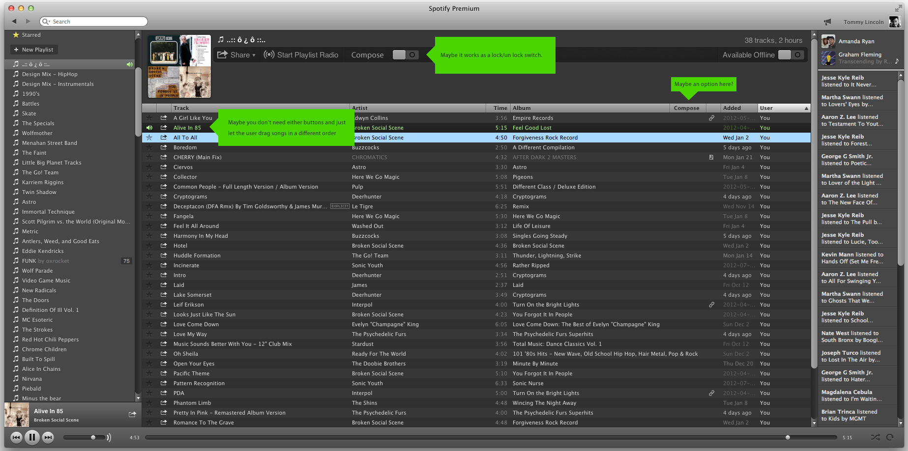 how to build a good playlist in spotify