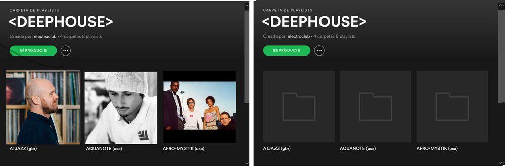 spotify playlist folders