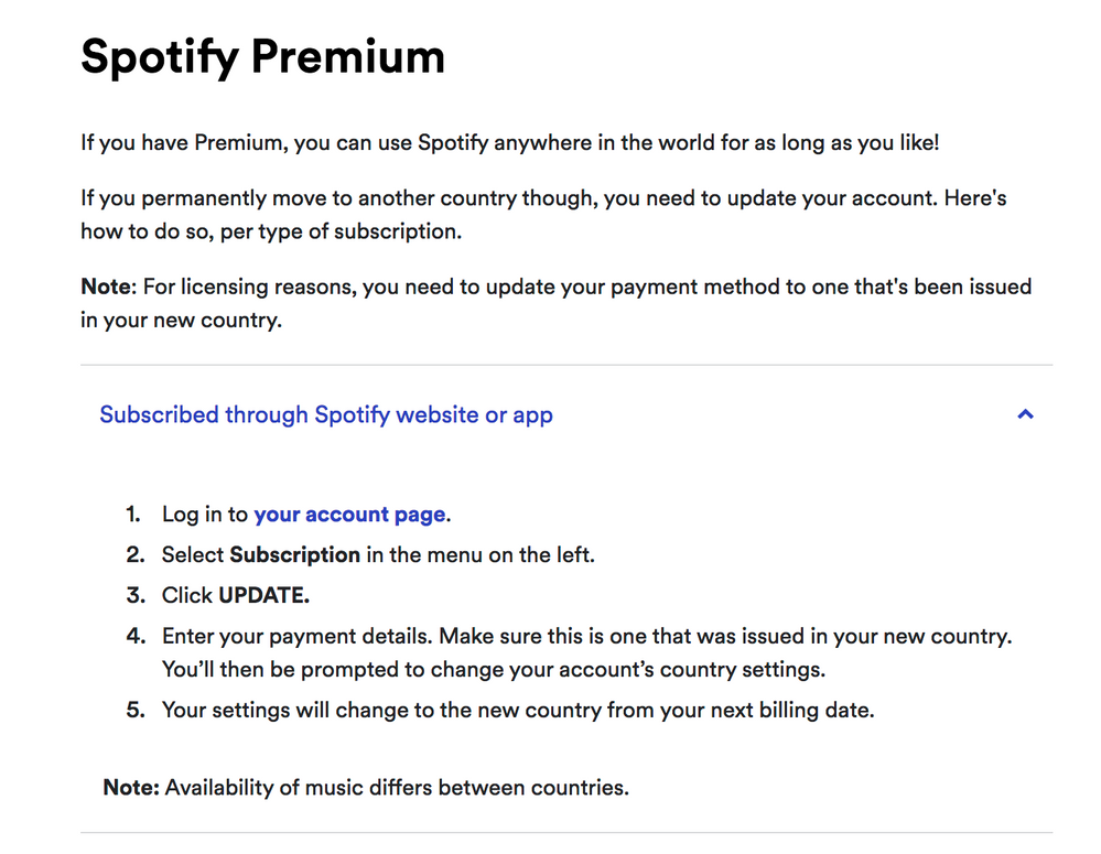 Cant Change My Country And Following Instruction The Spotify