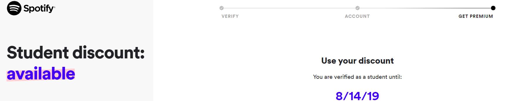 spotify student verify