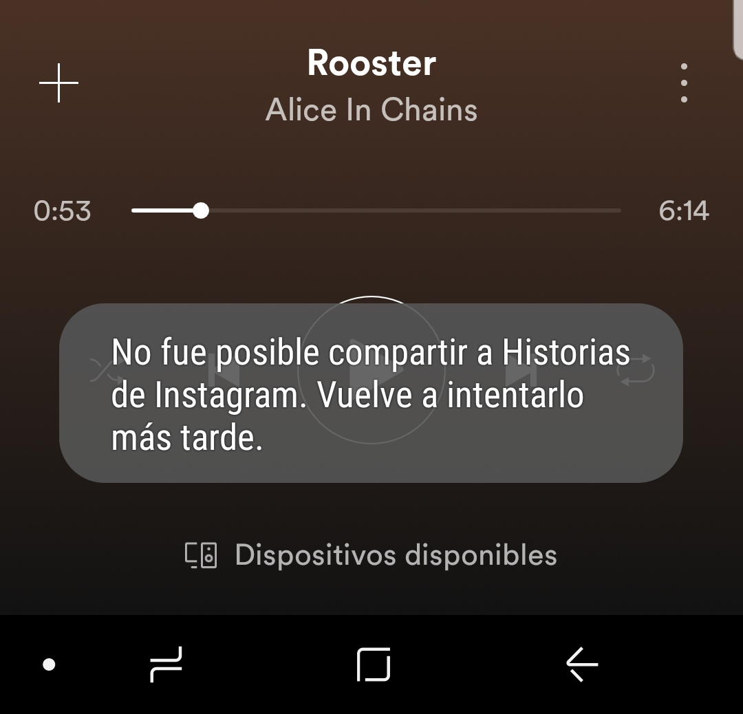 Sharing To Instagram Story Not Working Page 5 The Spotify Community